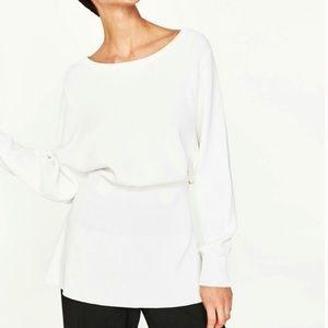 NWT ZARA Knit Sweater Top